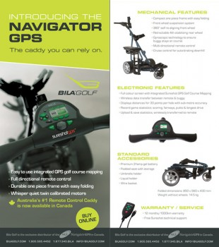 brochure design for bila golf