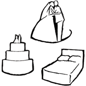 free wedding icons for maps