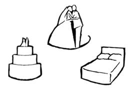 wedding map icons free