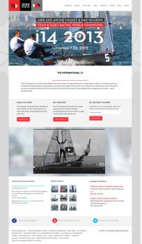 sailing race website design