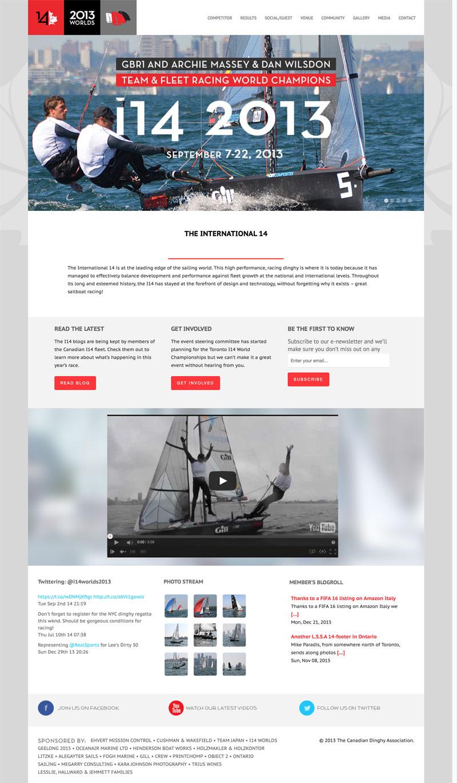 event webmaster and event website design