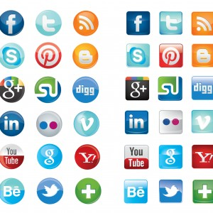 the changing landscape social media icons