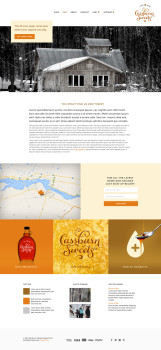 maple sugar web design