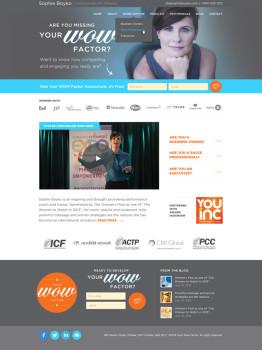 coaching website designer