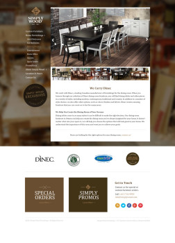 furniture design web design