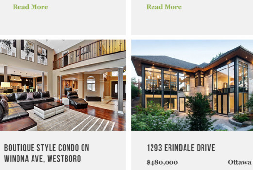 real estate website designers