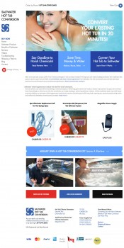 hot tub web designer